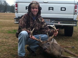 A mature Buck I harvested in 2011