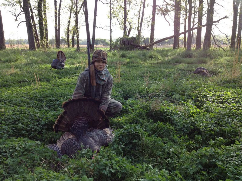 Ryan McOwen, First Turkey, April 17, 2013, Bertie County, NC