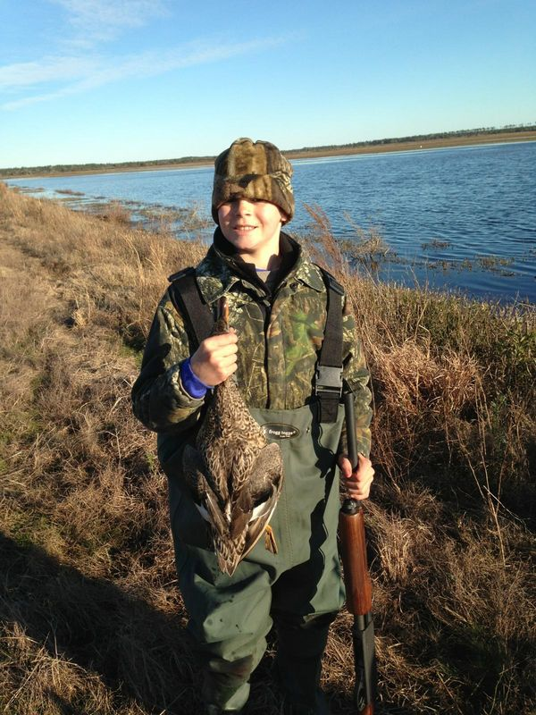 Ryan McOwen, Outfall Farm, Hyde County, NC Youth Day 2/2/13