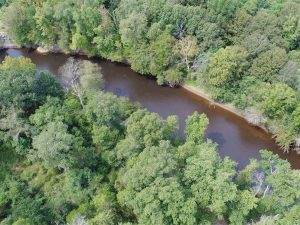 SOLD!  68 Acres of Riverfront Recreational Land For Sale in King and Queen County VA!