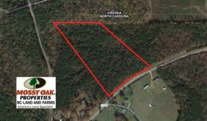 REDUCED!  11.63 Acres of Recreational Land For Sale in Warren County NC!