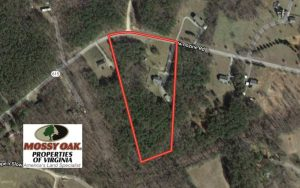 CLOSED!  7.02 Acres of Residential and Farm Land for Sale in Nottoway County VA!