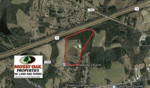 UNDER CONTRACT!!   36.25 Ac of Farm Hunting and Residential Land for Sale in Columbus County NC!