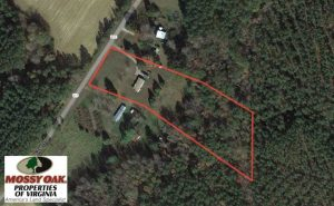 SOLD!  4.24 Acres of Residential Land For Sale in Brunswick County VA!