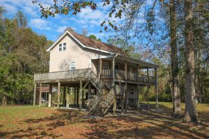 SOLD!!  65 Acres of Hunting Land with Home For Sale in Hyde County NC!