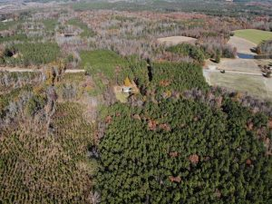SOLD!!  6.64 Acres of Residential Land with Home For Sale in Brunswick County VA!