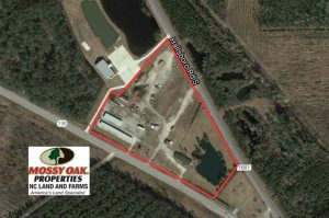 8.32 Acres of Commercial and Development Land with Home in Columbus NC!