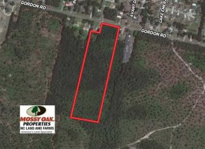 SOLD!  14 Acres of Residential Development Land For Sale in New Hanover County NC!