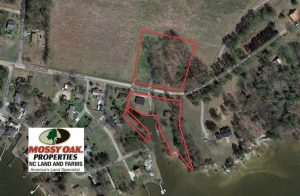 SOLD!!  3.8 Acres of Waterfront Land For Sale in Perquimans County NC!
