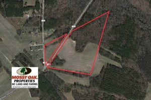 25 Acres of Farm and Timber Land For Sale in Halifax County NC!