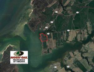 SOLD!!  41 Acres of Waterfront Property For Sale in Accomack County VA!