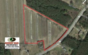8.38 Acres of Farm Land For Sale in Pamlico County NC!