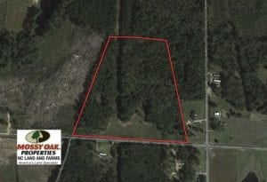 19.47 Acres of Residential and Recreational Land in Harnett County NC!