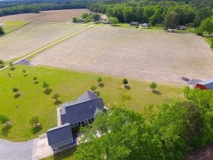 UNDER CONTRACT!!  9.5 Acres of Land with Custom Home For Sale in Suffolk VA!