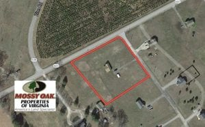 SOLD!!  1.68 Acres of Residential Land with Home For Sale in Sussex County VA!