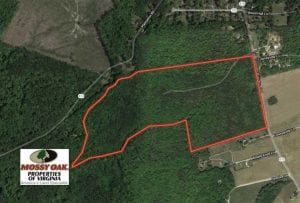 SOLD!!  91 Acres of Undeveloped Residential Land For Sale in Gloucester County VA!