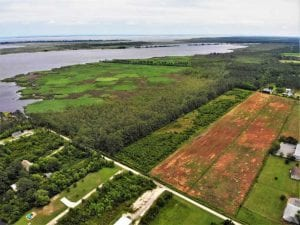 UNDER CONTRACT!!  109.38 Acres of Waterfront Land For Sale in Currituck County NC!