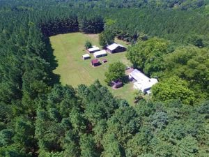 SOLD!!  81.72 Acres of Rural Residential and Recreational Land For Sale in Greensville County VA!