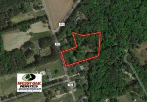 SOLD!!  2.4 Acres of Residential Land with Home For Sale in Suffolk VA!