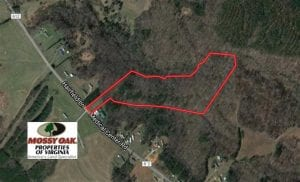 SOLD!!  17.24 Acres of Recreational and Residential Land For Sale in Pittsylvania County VA!