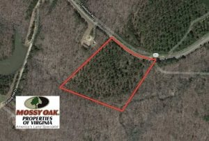10.72 Acres of Recreational and Hunting Land in Lunenburg County VA!