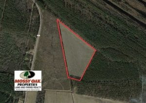 SOLD!!  20 Acres of Farm Land For Sale in Robeson County NC!