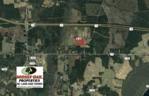 SOLD!!  15.5 Acres of Farm and Hunting Land For Sale in Columbus County NC!