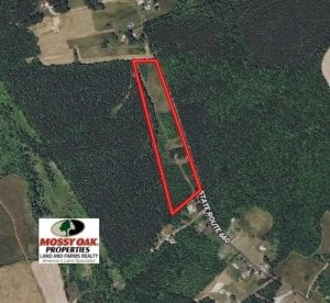 SOLD!!  10.25 Acres of Residential Land For Sale in Nottoway County VA!