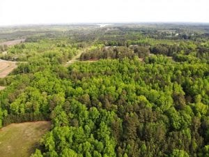 SOLD!!  8.38 Acres of Recreational Hunting Land For Sale in Warren County NC!