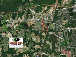 50.36 acres of Commercial Land for Sale in Nash County NC!