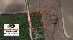 SOLD!! 1.38 Acres of Residential Land For Sale in Greene County NC!
