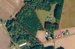 15 Acres of Residential and Hunting Land For Sale in Robeson County NC!