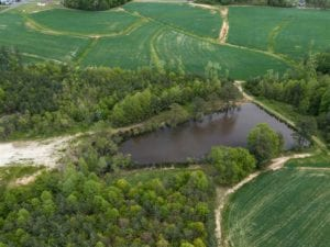 UNDER CONTRACT!!  +/- 10.60 acre Lot with Pond for Sale in Person County, NC!