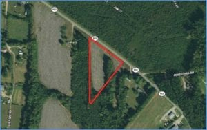 4.22 acres of Residential and Farmland for Sale in Warren County NC!