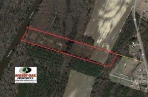 SOLD!!  19.64 Acres of Tar River Hunting Land For Sale in Edgecombe County NC!