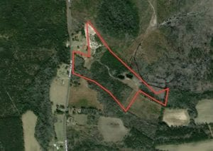 Sold!!  32.67 Acres of Recreational and Residential Land For Sale in Bladen County, NC!