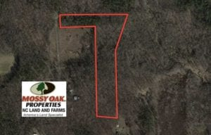 SOLD!!  10 Acres 0f Timber Land For Sale in Orange County NC!
