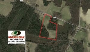 SOLD!!  25.5 Acres of Farm and Hunting Land for Sale in Columbus County NC!