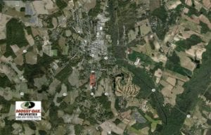 REDUCED!! 11.46 Ac of Development Land For Sale in Downtown Fairmont in Robeson County NC!
