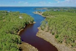 8.71 Acres of Waterfront Land For Sale in Hyde County NC!