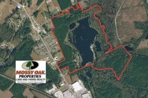 194 Acres of Waterfront Recreational Land For Sale in Robeson County NC!