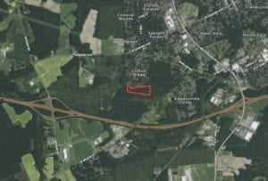 REDUCED!! 13.1 Acres of Developmental Land For Sale in Edgecombe County!