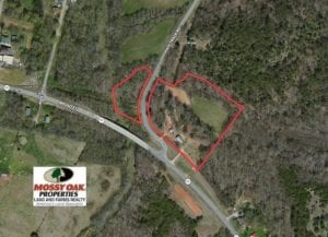 7.85 Acres of Land with Home For Sale in Caswell County NC!