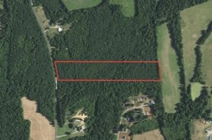 14.35 Acres of Residential and Recreational Land For Sale in Alamance County, NC!
